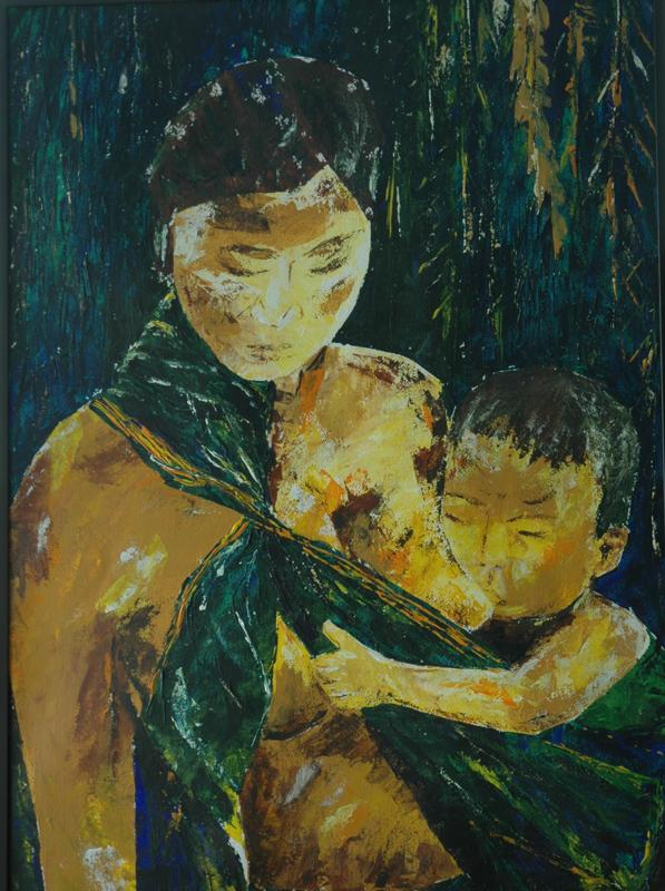 Mother and Child ($1200 Original)