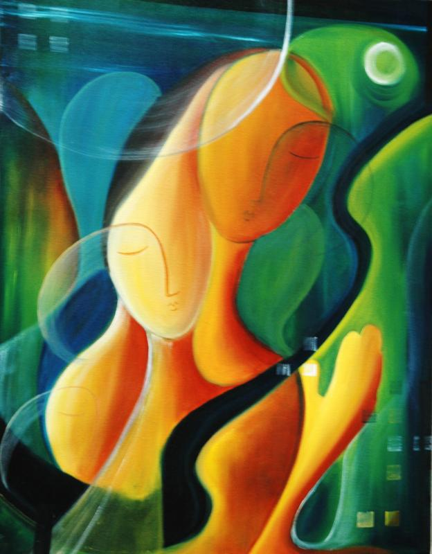 Togetherness ($1400 Original)